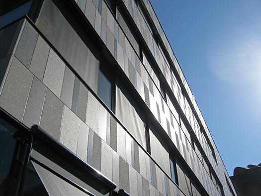 Fasad, TOSSENE Grå Bohus, Flammad, Linköping, Hallindens Granit AB